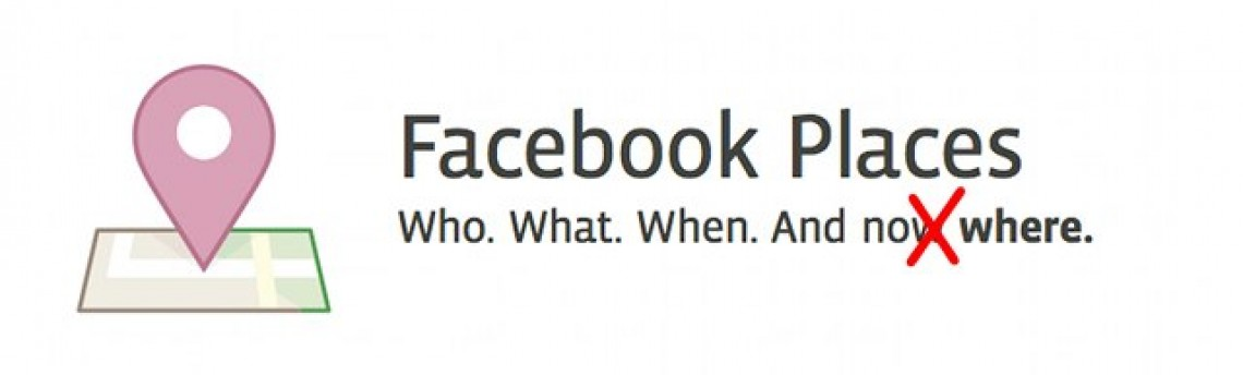 O Facebook simplesmente eliminou o Places