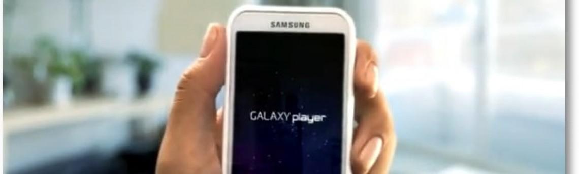 Para roubar mercado do iPod, Samsung lança Galaxy Player