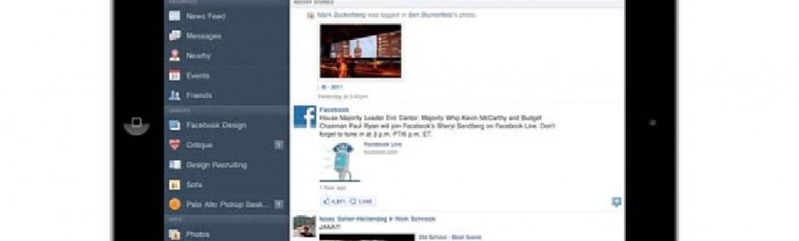 Novo beta do iOS sugere grande integração com o Facebook