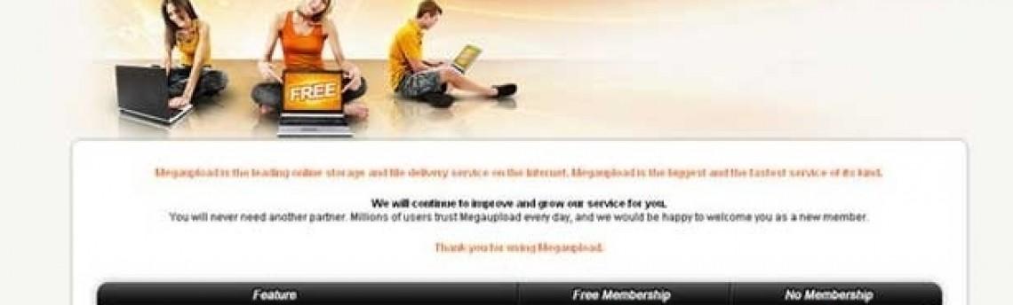 FBI bloqueia Megaupload por distribuição em massa de pirataria na web; hackers revidam