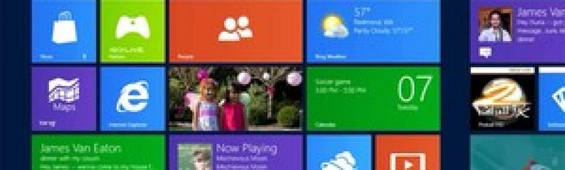 Aparelhos com Windows 8 chegarão ao mercado em outubro, diz site