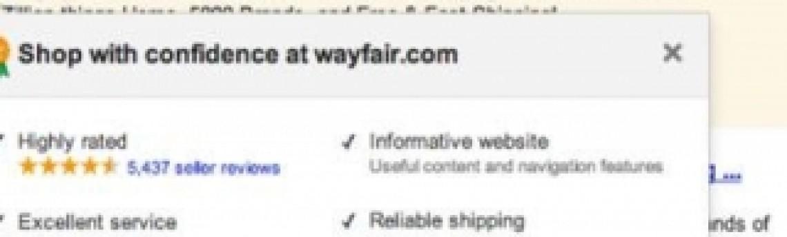 Google começa a testar selo 'Loja de Confiança' nos Links Patrocinados
