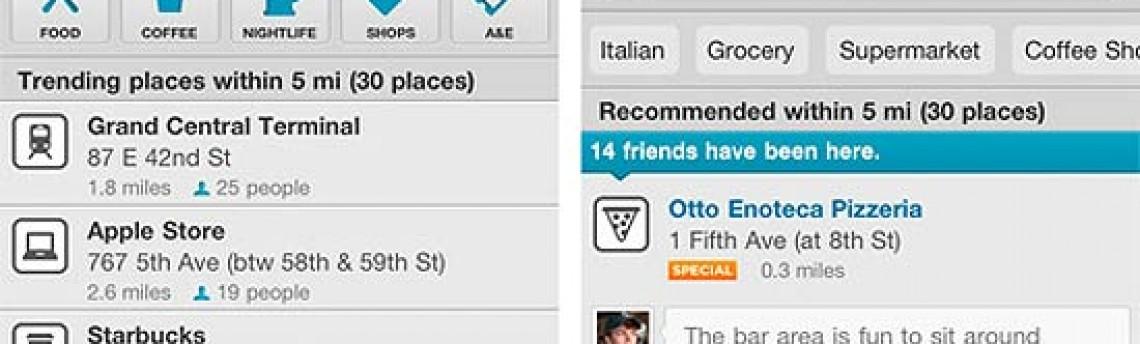 Empresas poderão comprar posições de destaque no Foursquare