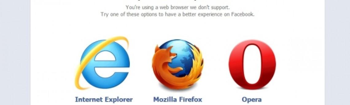 Facebook remove Chrome dos navegadores suportados pela rede social