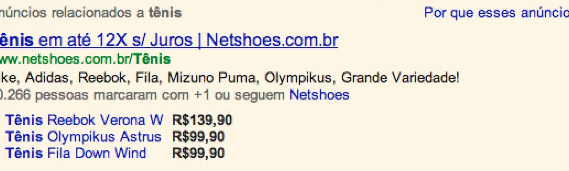Implementação dos anúncios da lista de produtos e extensões de produto para os anunciantes brasileiros