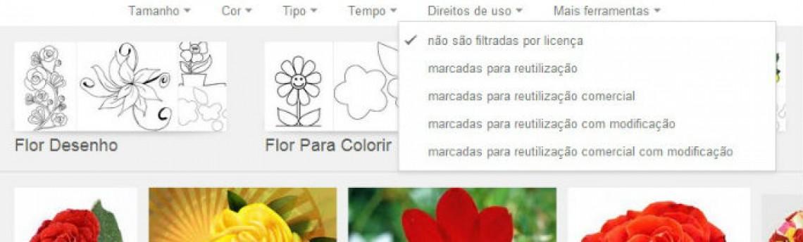 Google Imagens agora classifica resultados com base em licenciamento de direitos
