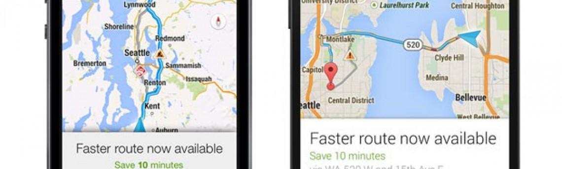 App Google Maps indicará o caminho com trânsito menos congestionado
