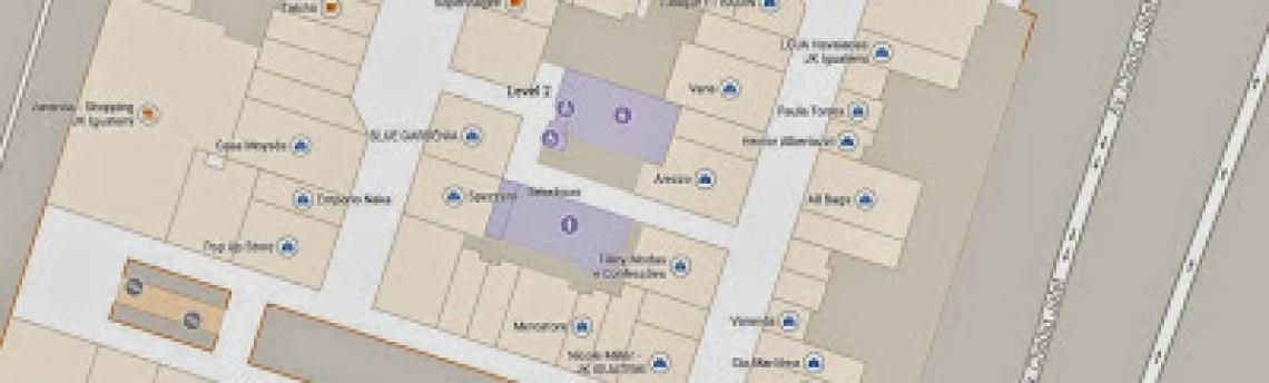 Explore o interior de aeroportos, estádios de futebol e shopping centers com o Google Indoor Maps
