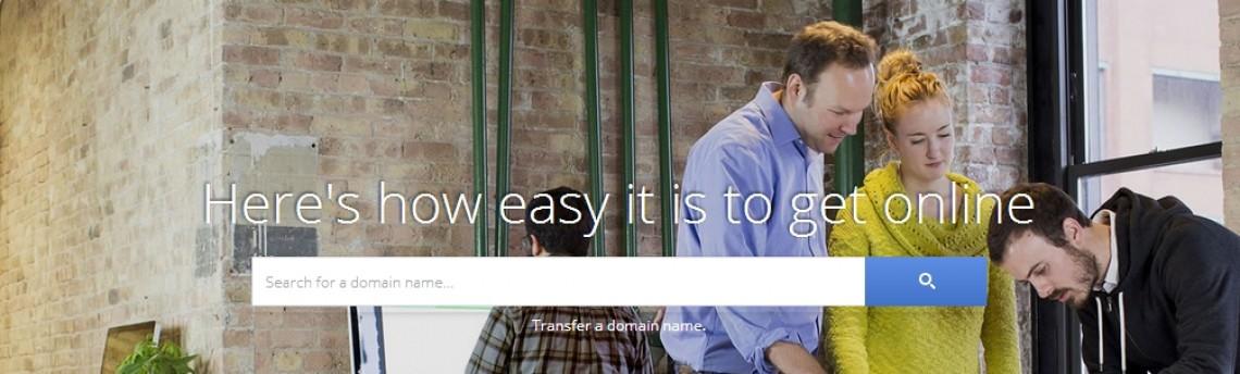 Google começa a testar seu próprio serviço de registro de domínios