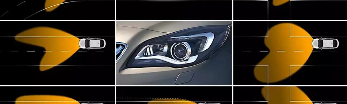 A GM está desenvolvendo faróis inteligentes que seguem o olhar do motorista