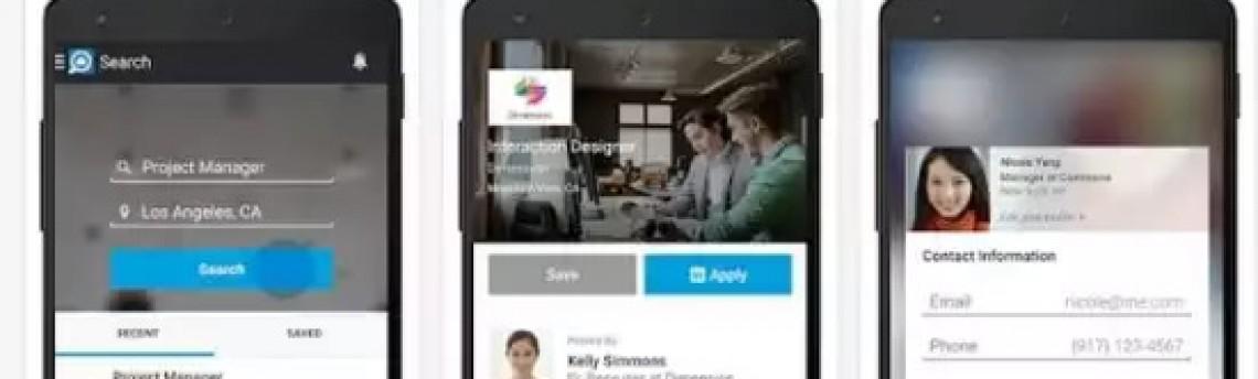 App LinkedIn Oferece Recurso Para Busca de Empregos