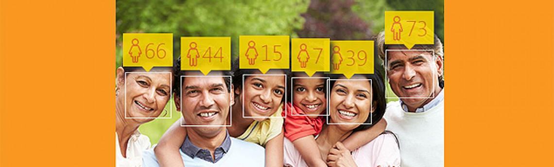 Microsoft lança site que 'adivinha' idade de pessoas em uma foto