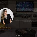 Site Ana Lívia Werdine - Perfil
