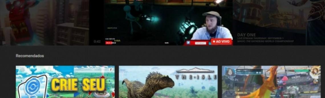 Versão do YouTube dedicada aos games estreia no Brasil